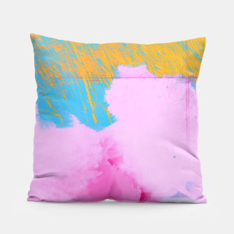 Miniatur Pink Clouds Pillow, Live Heroes