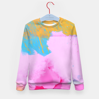 Miniatur Pink Clouds Kid's Sweater, Live Heroes