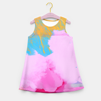 Miniaturka Pink Clouds Girl's Summer Dress, Live Heroes