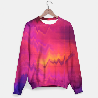 Thumbnail image of Pinl Glitch Sweater, Live Heroes
