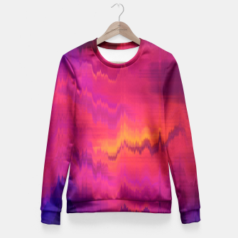 Thumbnail image of Pinl Glitch Fitted Waist Sweater, Live Heroes