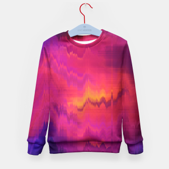 Thumbnail image of Pinl Glitch Kid's Sweater, Live Heroes