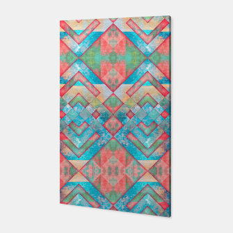 Miniatur Abstract colorful pattern design  Canvas, Live Heroes