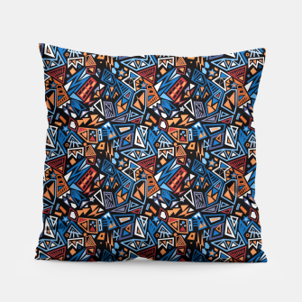 Miniatur Stylish geometric abstract colorful pattern Pillow, Live Heroes