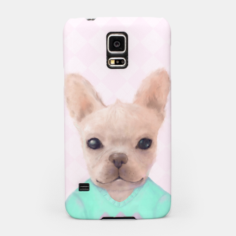 Miniatur French Bull Dog Samsung Case, Live Heroes
