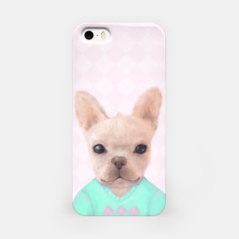 Miniatur French Bull Dog iPhone Case, Live Heroes