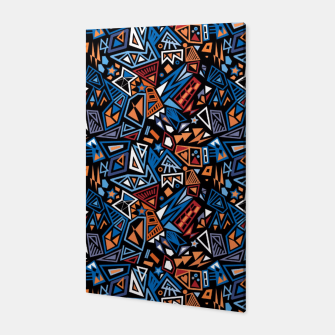Miniatur Stylish geometric abstract colorful pattern Canvas, Live Heroes