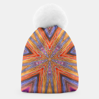 Miniaturka colorful strings Beanie, Live Heroes