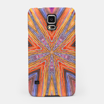 Miniatur colorful strings Samsung Case, Live Heroes
