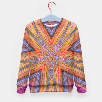 Miniatur colorful strings Kid's Sweater, Live Heroes