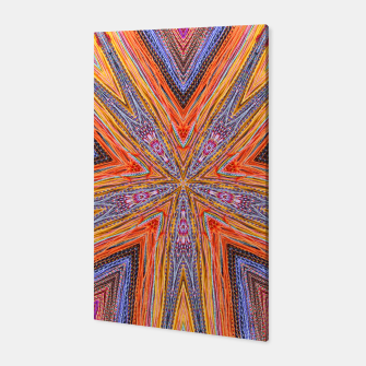 Miniatur colorful strings Canvas, Live Heroes