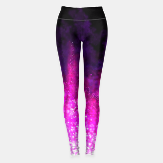 Miniaturka Galaxy pattern fashion trend Leggings, Live Heroes