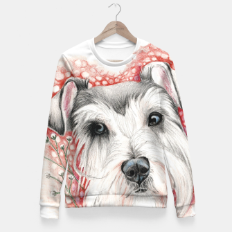 Miniatur Sweet Dog Fitted Waist Sweater, Live Heroes