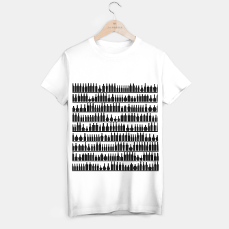 Miniaturka Bar Code T-shirt regular, Live Heroes