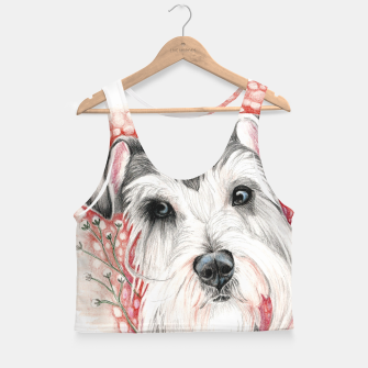 Miniatur Sweet Dog Crop Top, Live Heroes