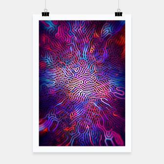 Miniatur Pattern Poster, Live Heroes
