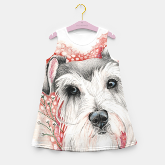 Miniaturka Sweet Dog Girl's Summer Dress, Live Heroes