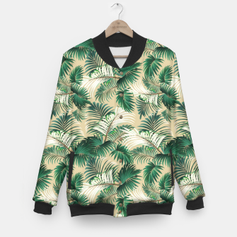Thumbnail image of Tropical Jungle Baseball Jacket, Live Heroes