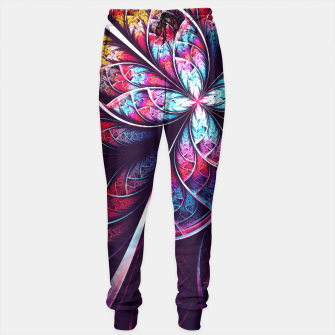 Miniaturka Abstract Flower Sweatpants, Live Heroes