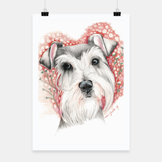Miniatur Sweet Dog Poster, Live Heroes