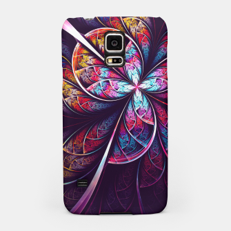 Miniatur Abstract Flower Samsung Case, Live Heroes