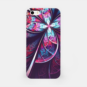 Miniatur Abstract Flower iPhone Case, Live Heroes