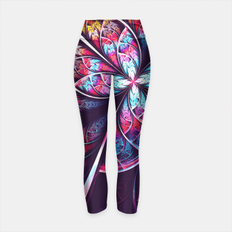 Miniaturka Abstract Flower Yoga Pants, Live Heroes