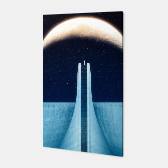 Thumbnail image of Moon Elevating Canvas, Live Heroes