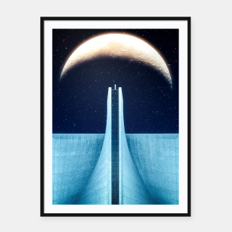 Miniatur Moon Elevating Framed poster, Live Heroes