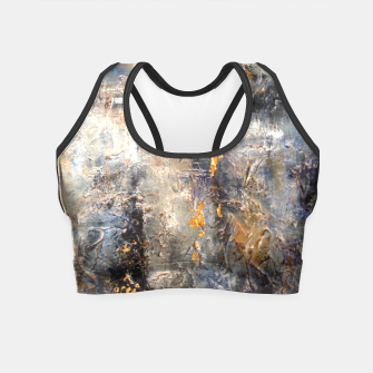 Thumbnail image of Golden Bars Crop Top, Live Heroes