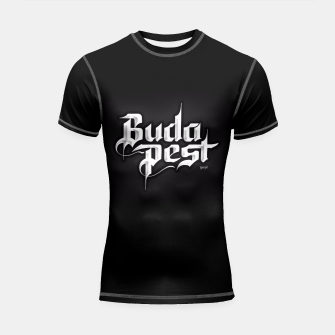 Thumbnail image of Budapest Night Shortsleeve Rashguard, Live Heroes