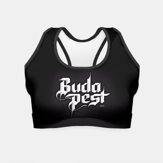 Thumbnail image of Budapest Night Crop Top, Live Heroes