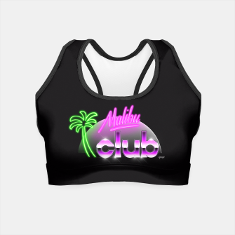 Thumbnail image of Malibu Club Crop Top, Live Heroes