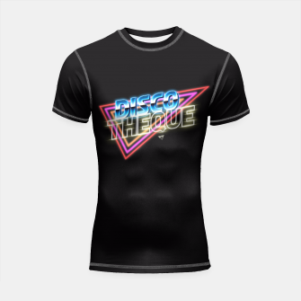 Thumbnail image of Discotheque Shortsleeve Rashguard, Live Heroes