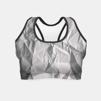 Thumbnail image of Non-Iron Man Crop Top, Live Heroes