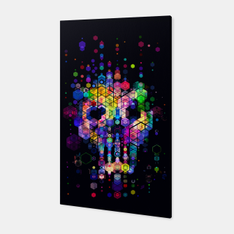 Miniaturka Monstrously Colorful Elementary Particles Canvas, Live Heroes