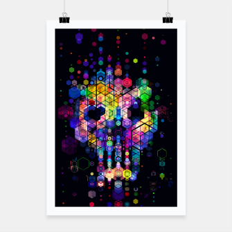 Thumbnail image of Monstrously Colorful Elementary Particles Poster, Live Heroes