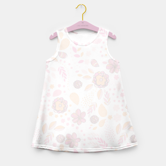 Miniaturka floral  Girl's Summer Dress, Live Heroes