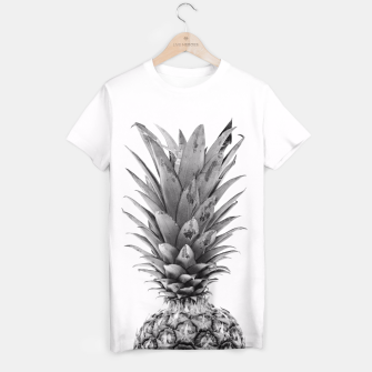 Miniaturka Black and White Pineapple T-shirt, Live Heroes