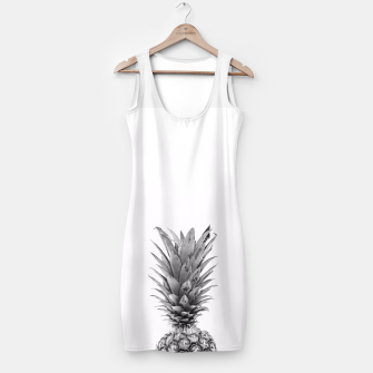Miniaturka Black and White Pineapple Simple Dress, Live Heroes