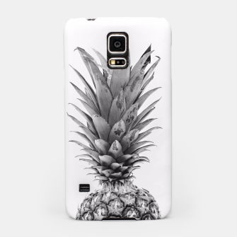 Miniatur Black and White Pineapple Samsung Case, Live Heroes