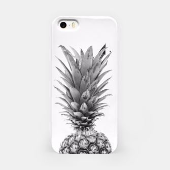 Miniatur Black and White Pineapple iPhone Case, Live Heroes