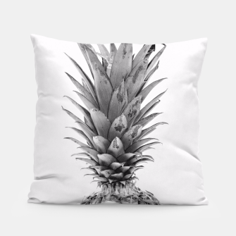 Miniatur Black and White Pineapple Pillow, Live Heroes