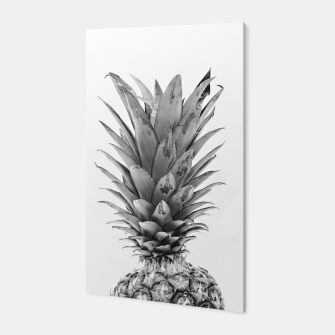 Miniaturka Black and White Pineapple Canvas, Live Heroes