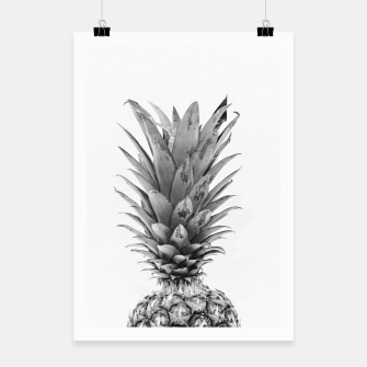 Miniaturka Black and White Pineapple Poster, Live Heroes