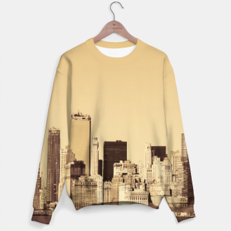 Thumbnail image of New York Cityscape Sweater, Live Heroes
