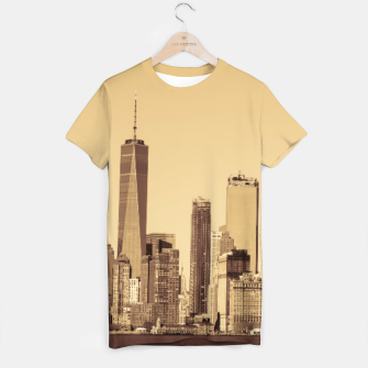 Thumbnail image of New York Cityscape T-shirt, Live Heroes