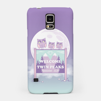 Miniatur Welcome to Twin Peaks - Owls Samsung Case, Live Heroes