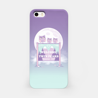 Miniatur Welcome to Twin Peaks - Owls iPhone Case, Live Heroes