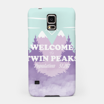 Miniatur Welcome to Twin Peaks Samsung Case, Live Heroes